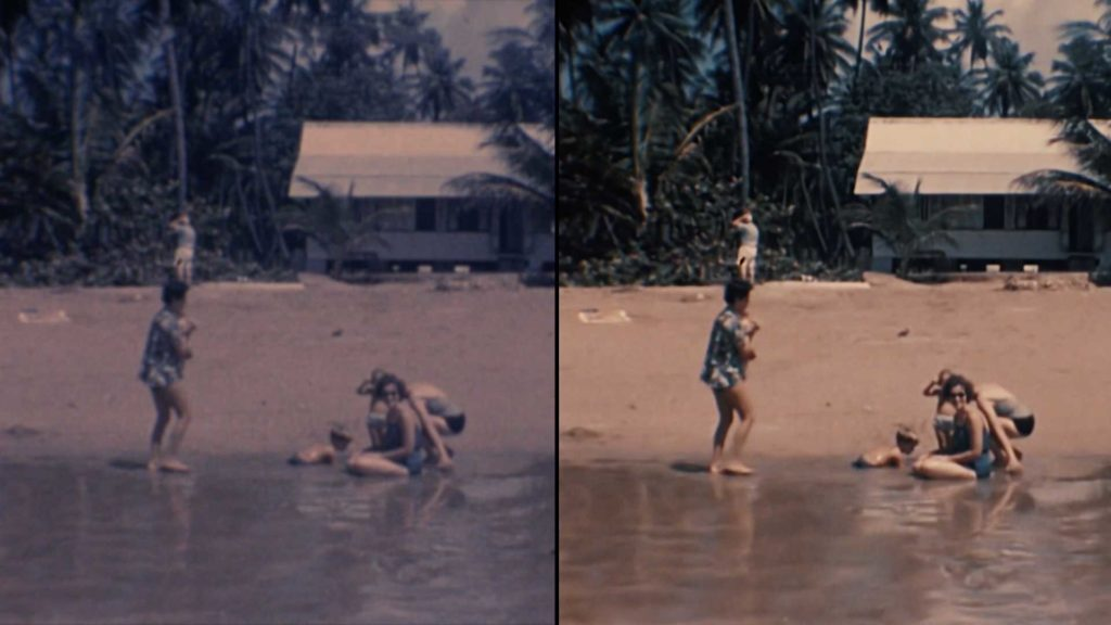 Super 8 Colour Correction Example 1